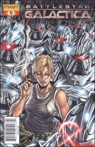 Battlestar Galactica (2006) 4-B by Dynamite Entertainment