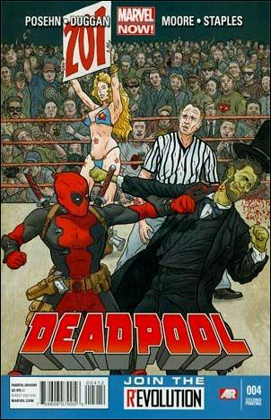Deadpool (2013) 4-C by Marvel