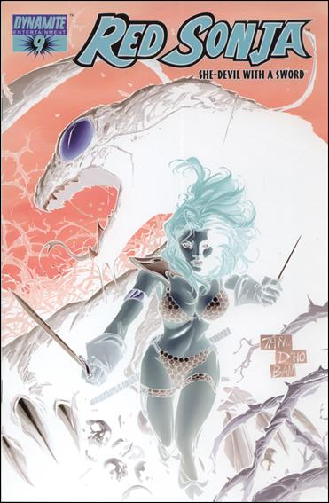 Red Sonja (2005) 9-E by Dynamite Entertainment