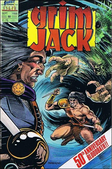 Grimjack 50-A by First