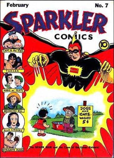 Sparkler Comics (1941) 7-A by United Features Syndicate