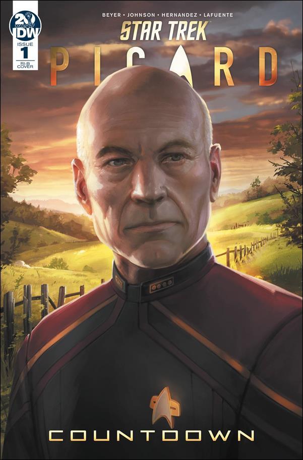 Star Trek: Picard - Countdown 1-C by IDW