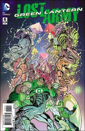 Green Lantern: Lost Army 6-A