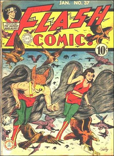 Flash Comics (1939) 37-A by DC