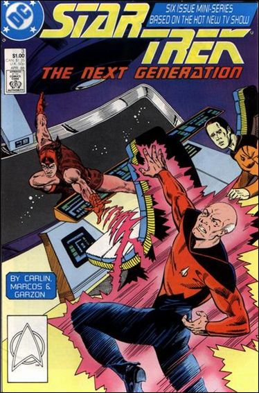 Star Trek: The Next Generation (1988) 3-A by DC