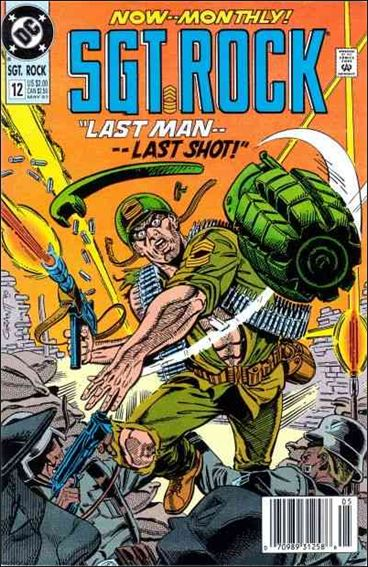 Sgt. Rock Special (1988) 12-A by DC