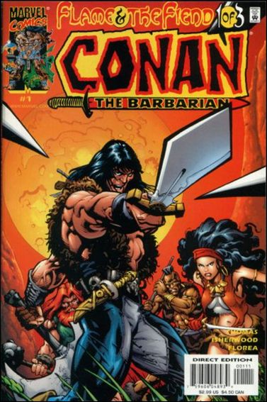 Conan: Flame and the Fiend 1-A by Marvel