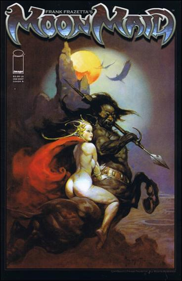 Frank Frazetta's Moon Maid 1-A by Image