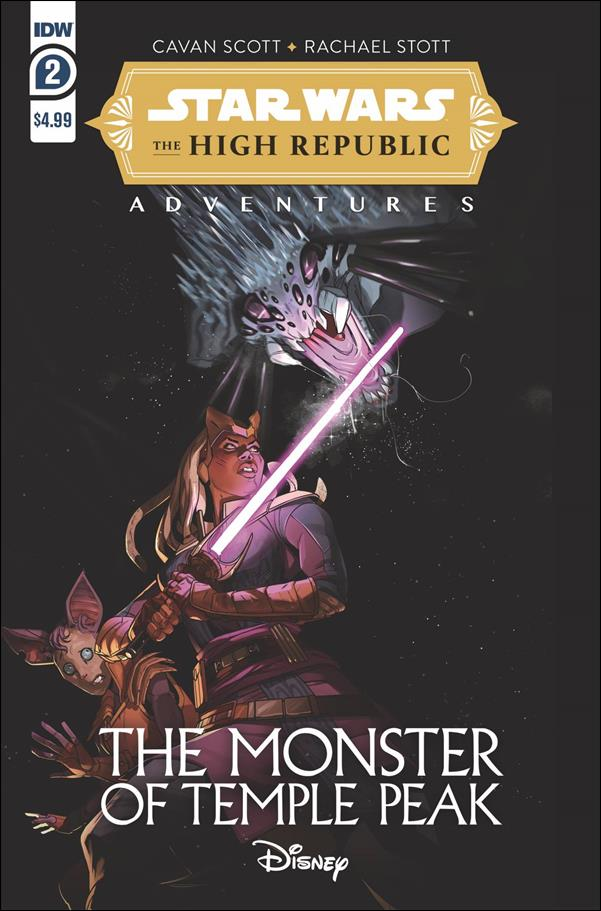 Star Wars: The High Republic Adventures - The Monster of Temple Peak 2-A by IDW