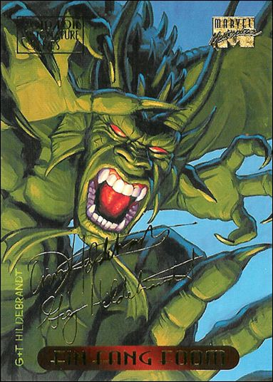 1994 Marvel Masterpieces (Gold-Foil Signature Parallel Base Set) 37-A by Fleer