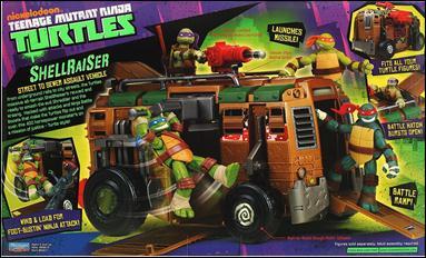 Teenage mutant ninja turtles 2012 vehicles and playsets shellraiser