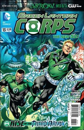 Green Lantern Corps (2011) 13-A
