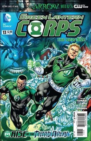Green Lantern Corps (2011) 13-A