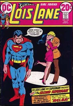 Superman's Girl Friend Lois Lane 132-A by DC