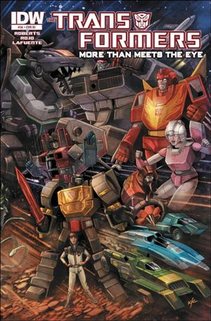 Transformers: More Than Meets the Eye (2012) 34-C