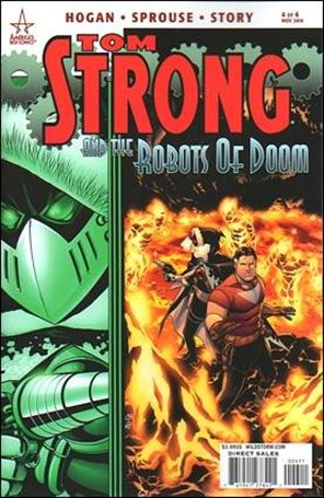 Tom Strong and the Robots of Doom 4-A