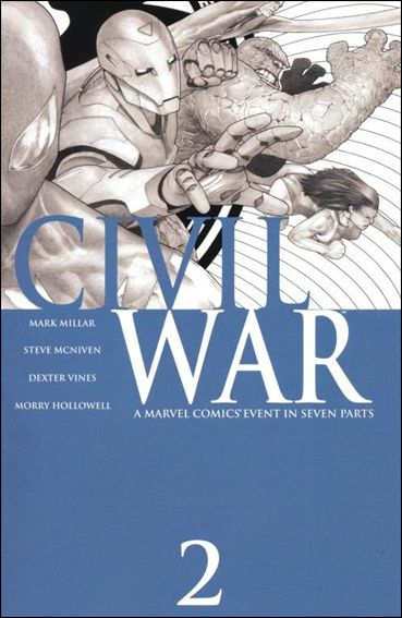Civil War (2006) 2-E by Marvel