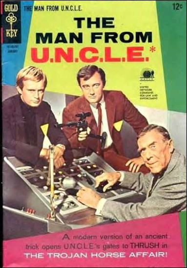Man from U.N.C.L.E.(1965) 10-A by Gold Key