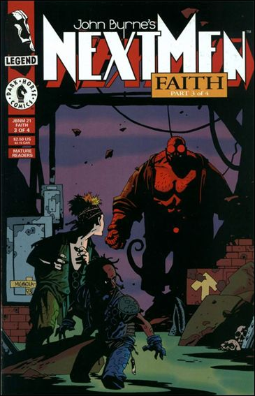 John Byrne's Next Men (1992) 21-A by Dark Horse