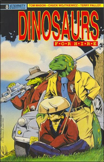 Dinosaurs for Hire (1988) 8-A by Eternity