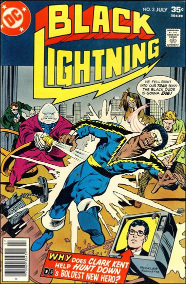 Black Lightning (1977) 3-A by DC