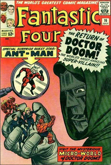 Fantastic Four (1961) 16-A by Marvel