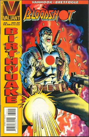 Bloodshot (1993) 30-A by Valiant