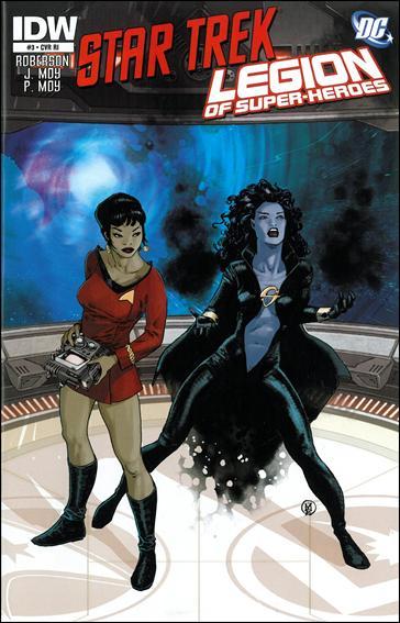 Star Trek/Legion of Super-Heroes 3-C by IDW