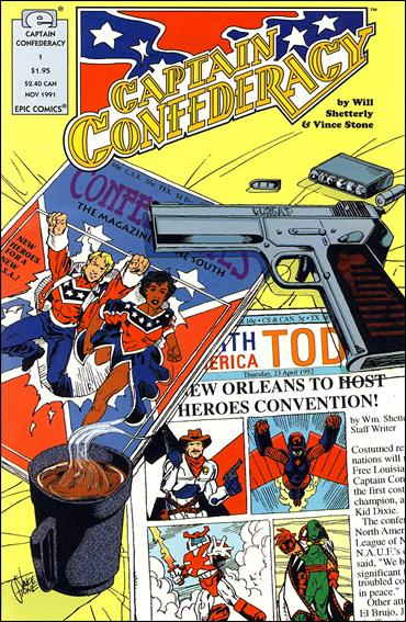 Captain Confederacy (1991) 1-A by Epic