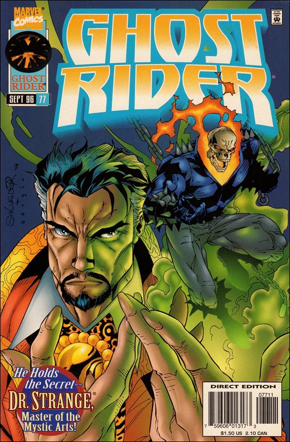 Ghost Rider (1990) 77-A by Marvel