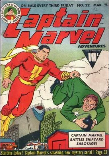 Captain Marvel Adventures 22-A by Fawcett