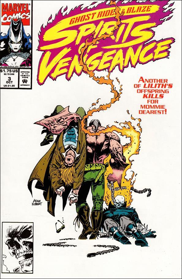 Ghost Rider/Blaze: Spirits of Vengeance 3-A by Marvel
