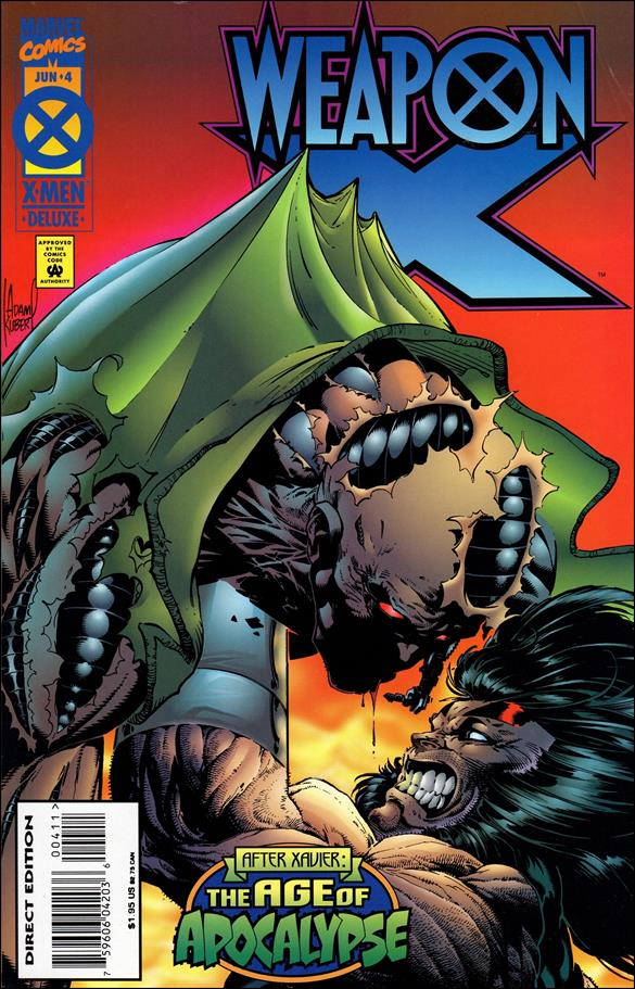 Weapon X (1995) 4-A by Marvel