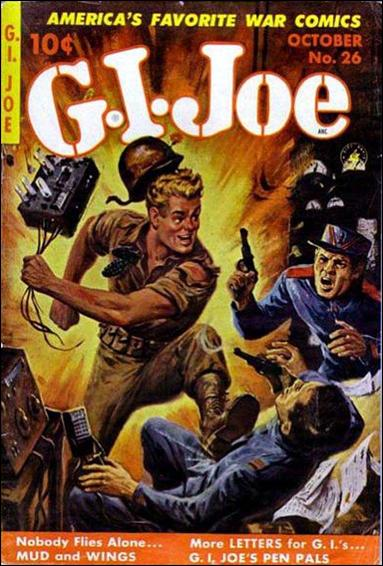 G.I. Joe (1951) 26-A by Ziff-Davis