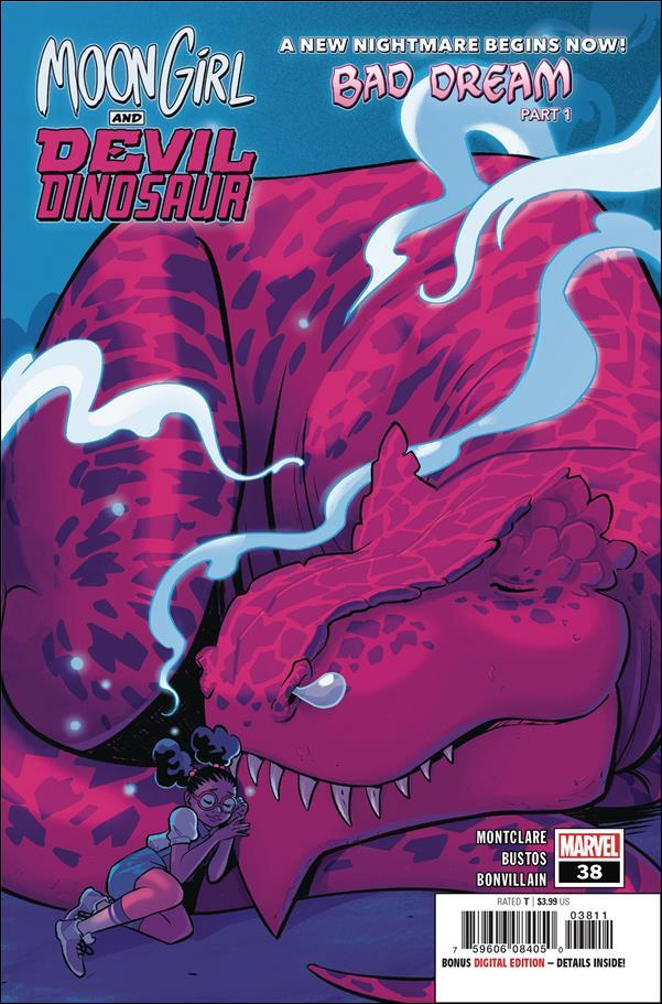 Moon Girl and Devil Dinosaur 38-A by Marvel