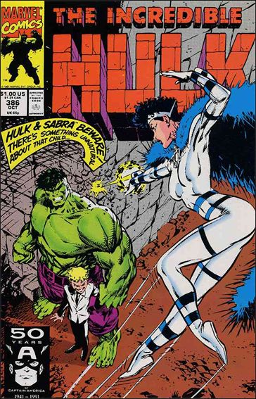 Incredible Hulk (1968) 386-A by Marvel
