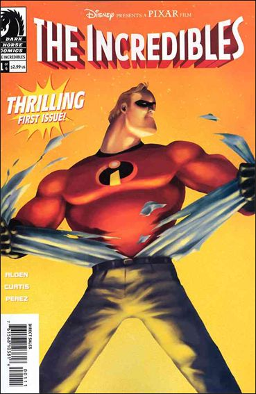 Incredibles (2004) 1-A by Dark Horse