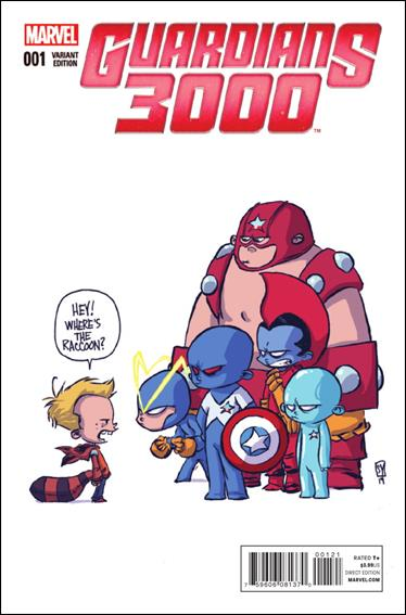 Guardians 3000 1-E by Marvel