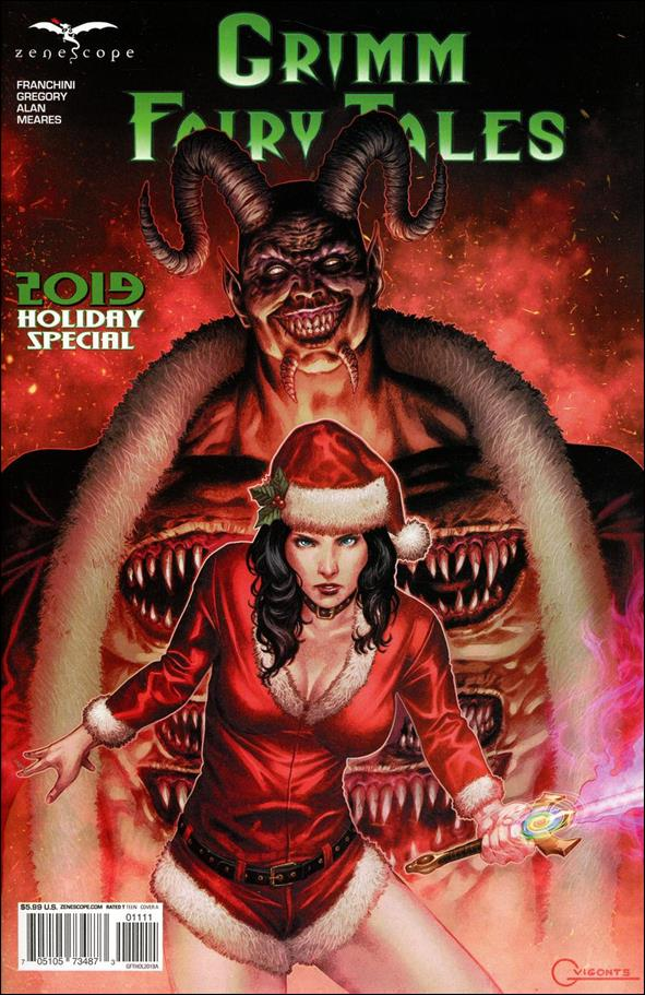 Grimm Fairy Tales Holiday Special 2019-A by Zenescope Entertainment