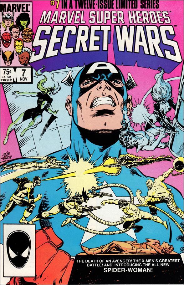 Marvel Super Heroes Secret Wars 7-A by Marvel