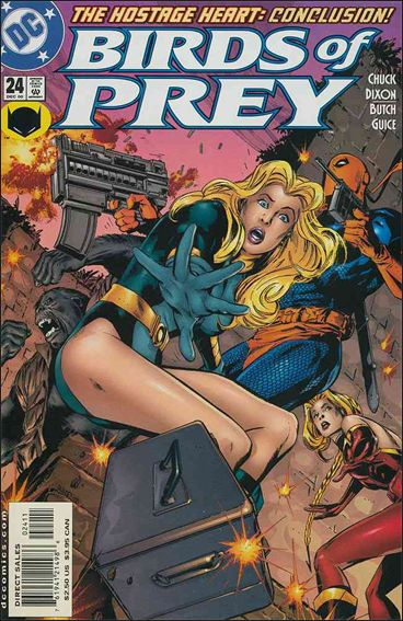 Birds of Prey (1999) 24-A by DC