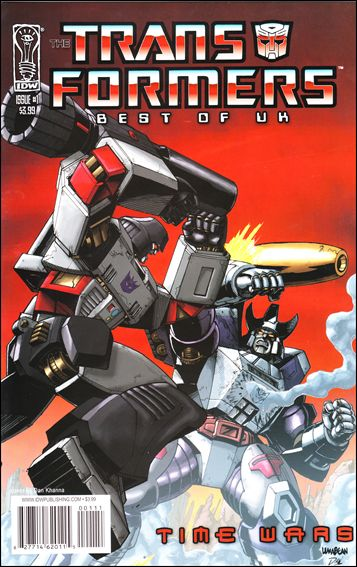 Transformers: Best of UK - Time Wars 1-A by IDW