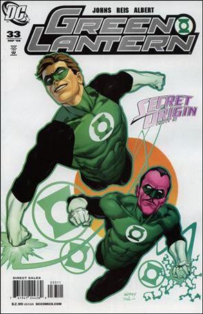 Green Lantern (2005) 33-A
