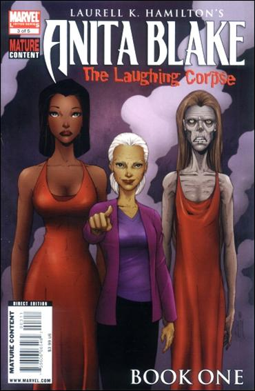 Anita Blake: The Laughing Corpse - Book One 3-A by Marvel