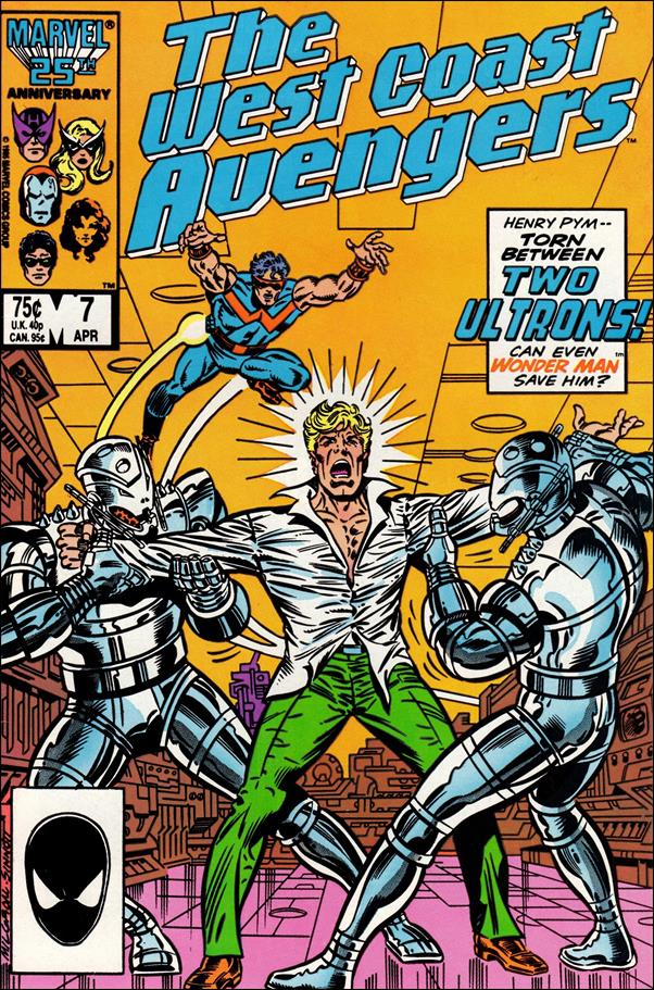 West Coast Avengers (1985) 7-A by Marvel
