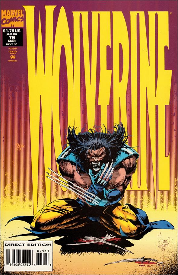 Wolverine (1988)  79-A by Marvel
