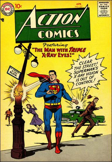 Action Comics (1938) 227-A by DC