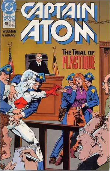 Captain Atom (1987) 49-A by DC