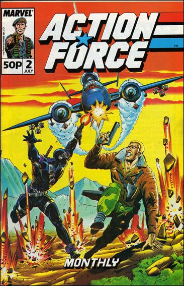 Action Force Monthly (UK) 2-A by Marvel UK
