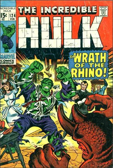 Incredible Hulk (1968) 124-A by Marvel